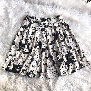 Cynthia Rowley Floral Flare Skirt